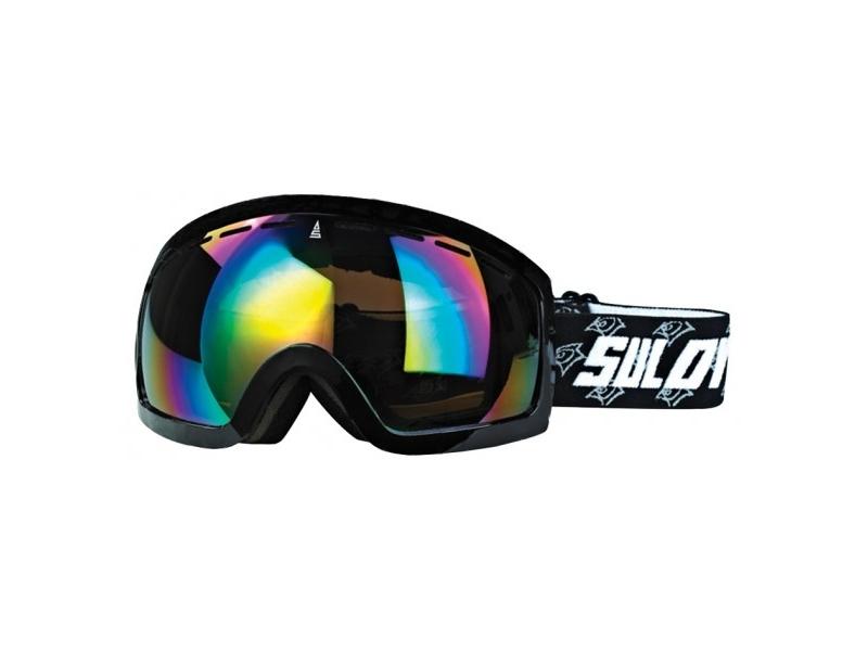 brýle lyžařské SULOV HORNET, dvojsklo, černé mat