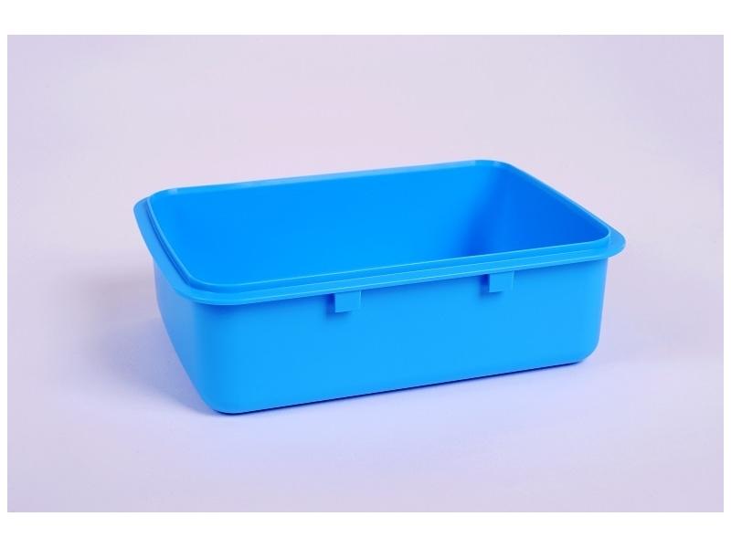 box RaB Zdravá sváča - miska modrá