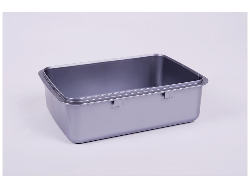box RaB Zdravá sváča - miska stříbrná nerez