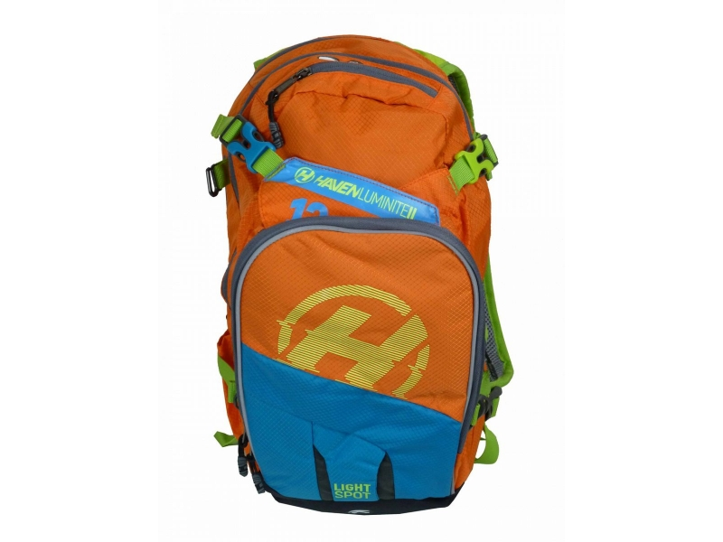 batoh HAVEN Luminite II 12l oranžový fluo