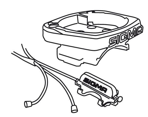 cc SIGMA -držák s komplet. kabeláží BC 509-1609 UNI