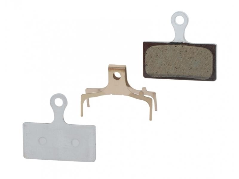 brzdové destičky SHIMANO SH BR-M985 polymer, s pružinou