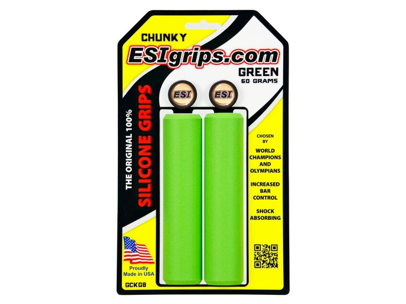 gripy ESI Grips CHUNKY zelené