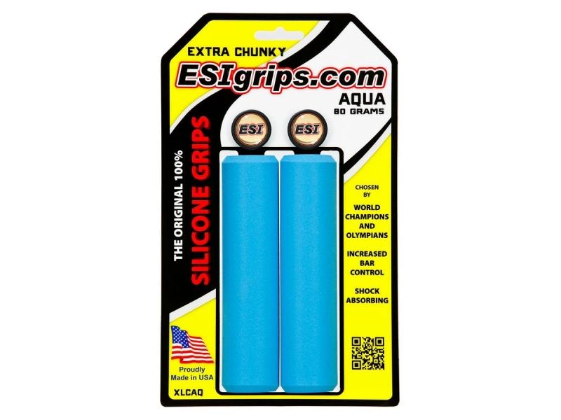 gripy ESI Grips CHUNKY  EXTRA aqua