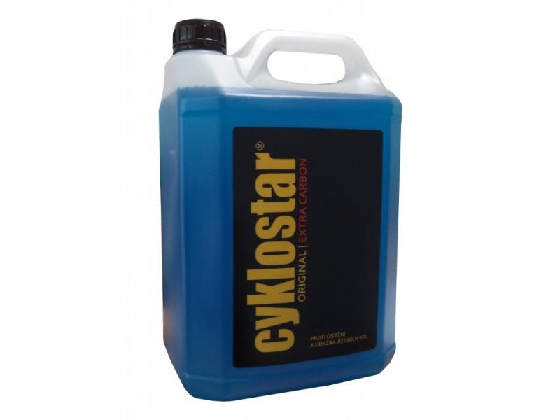 čistidlo CYKLOSTAR original Extra Carbon 5l