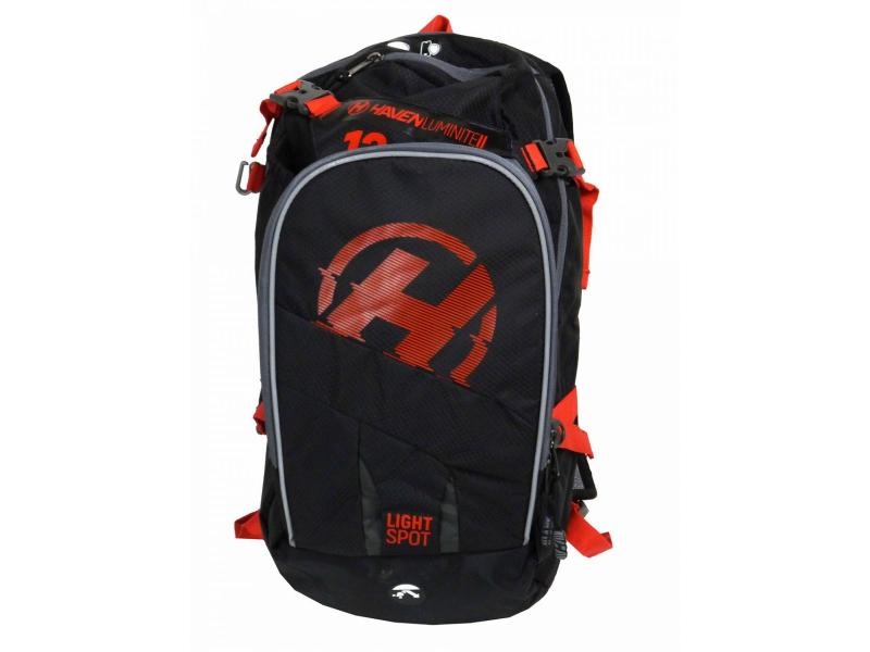batoh HAVEN Luminite II 12l černo-červený bez vaku