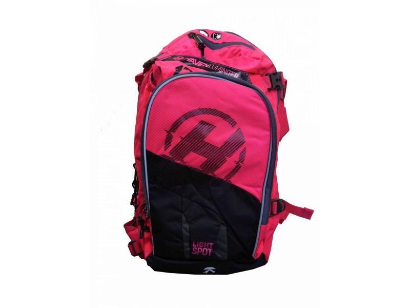 batoh HAVEN Luminite II 12l černo-růžový bez vaku