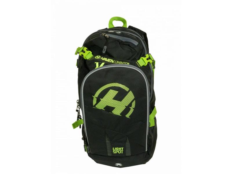 batoh HAVEN Luminite II 12l černo-zelený bez vaku