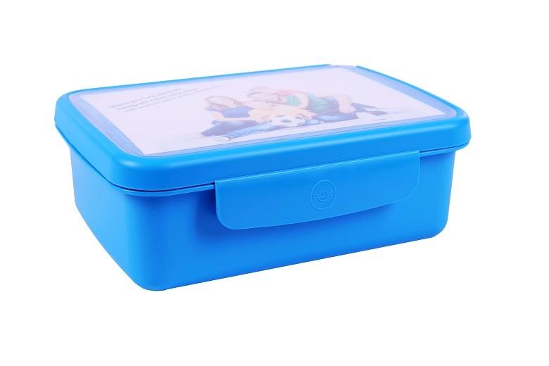 box RaB Zdravá sváča modrý komplet design Vesmír