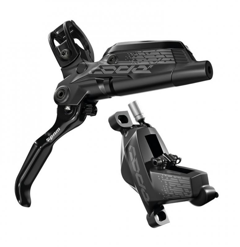 brzda kotoučová SRAM Code R zadní černá