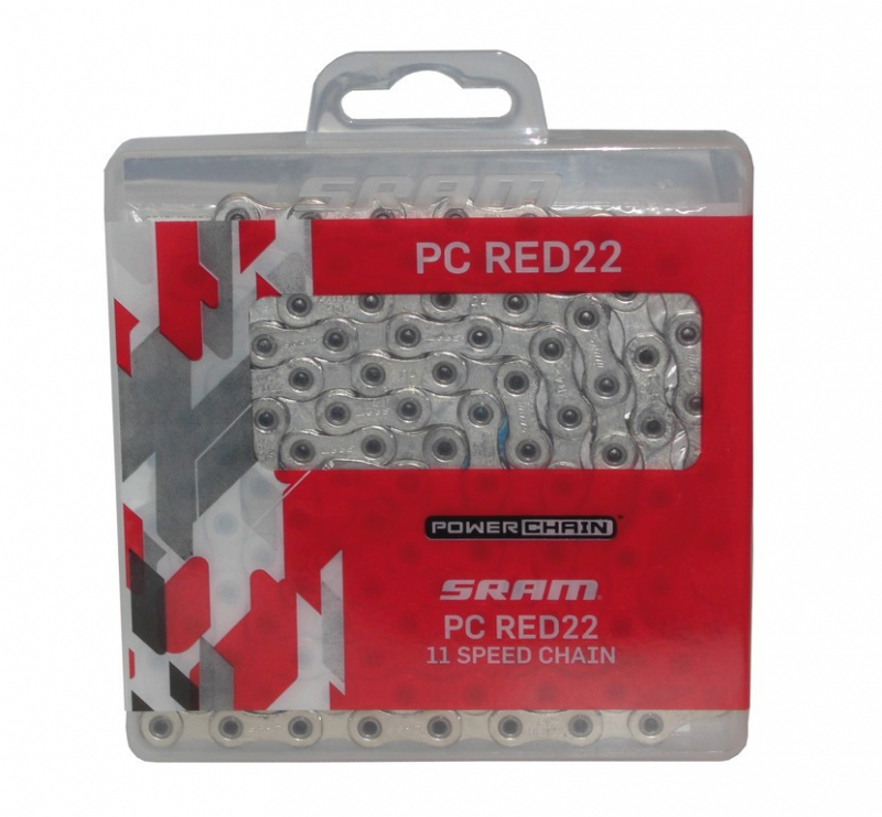řetěz SRAM 11sp. PC RED22 115čl. + PowerLock