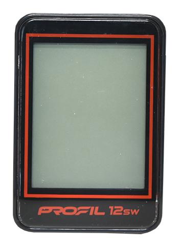 cc PROFIL 1501 12SW černo-červený bezdrátový