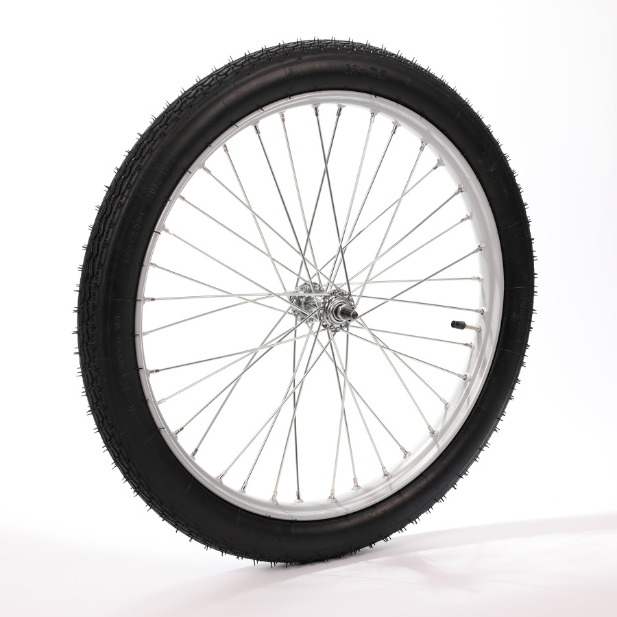 kolo napl. 23x2 k vozíku šedé obuté
