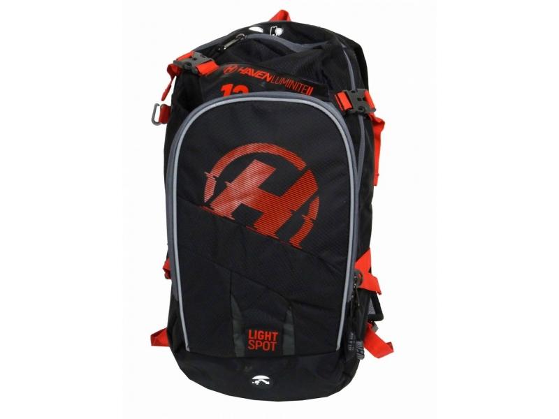 batoh HAVEN Luminite II 12l černo-červený