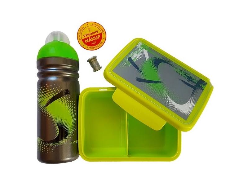 svačinový set RaB lahev + box 0,7l TORNÁDO