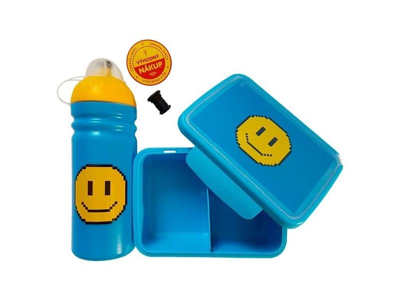 svačinový set RaB lahev + box 0,7l SMAJLÍK