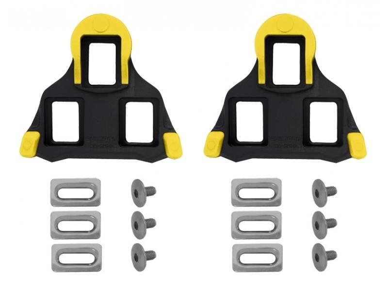 pedály - kufry SH SPD SL SM-SH11 žluté silniční s vůlí