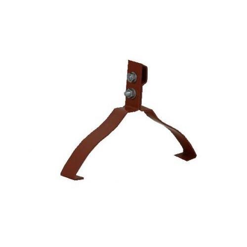 Hřebenový držák hromosv.lana na drážkové hřebeny TONDACH č. 2