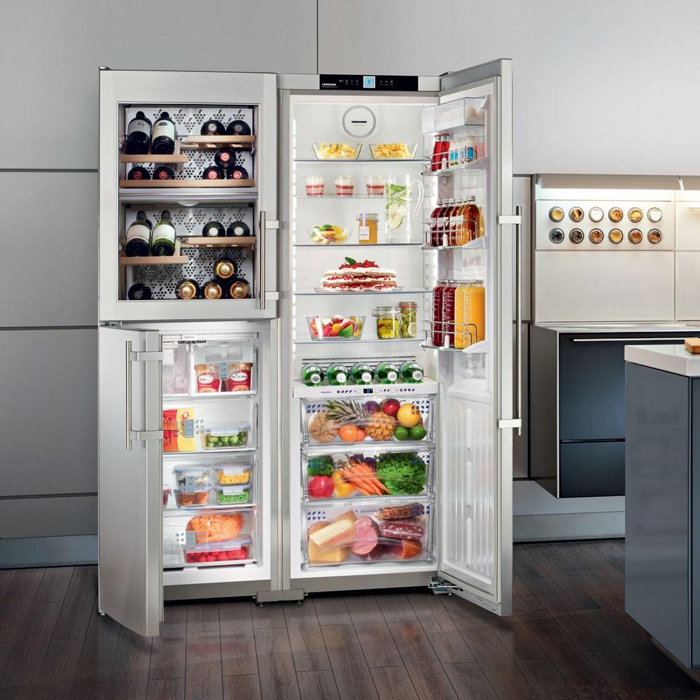americká lednice s vinotékou Liebherr SBSes 7165 Premium