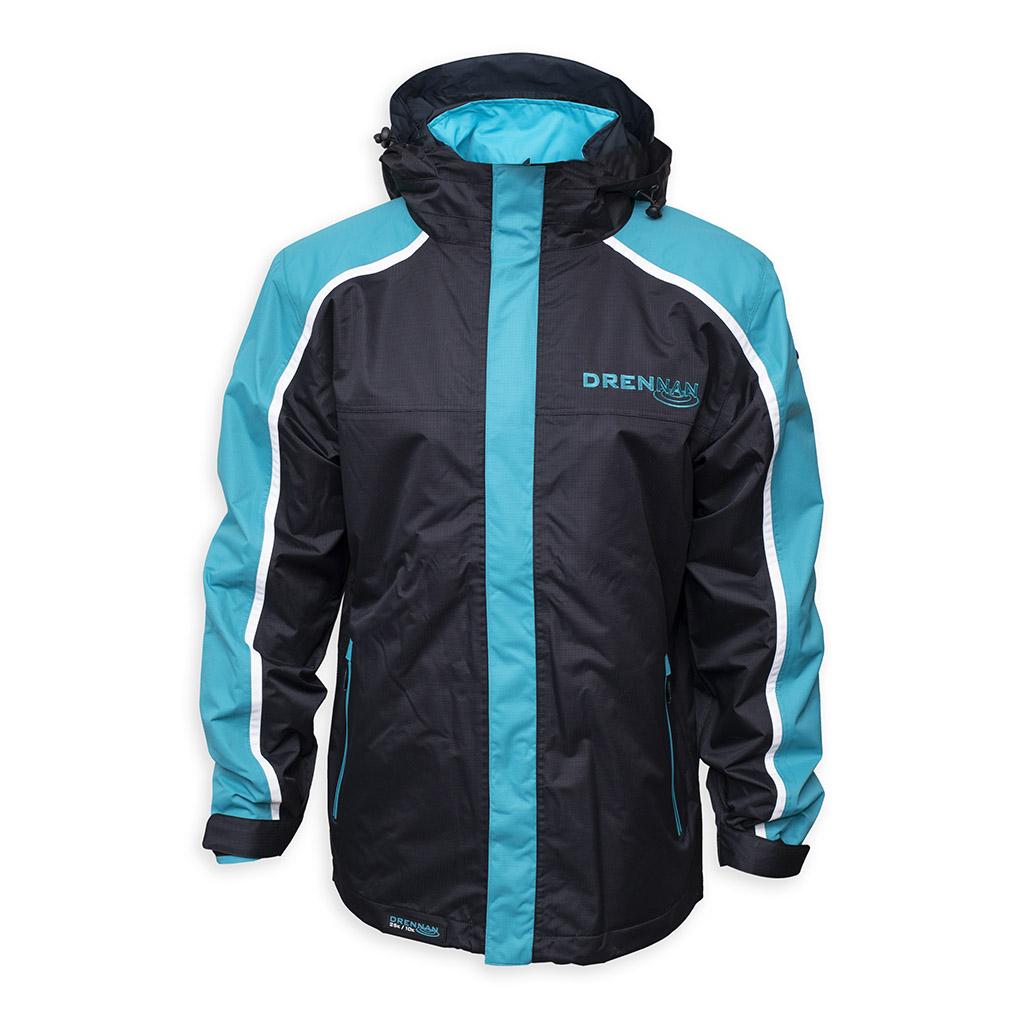 Drennan bunda 25K Waterproofs Jacket Aqua/Black