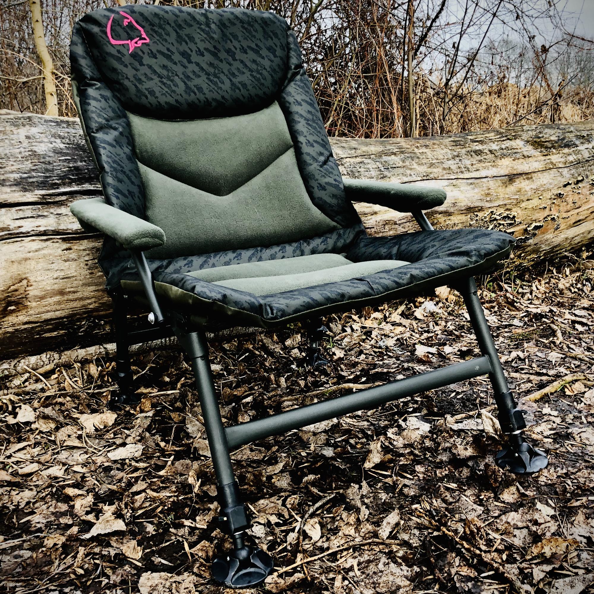 LK Baits křeslo CAMO Neopren Chair